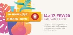 40º HOME & GIFT / 9º TÊXTIL & HOME 2020