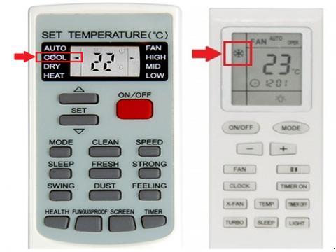Como colocar o Ar Condicionado no modo frio