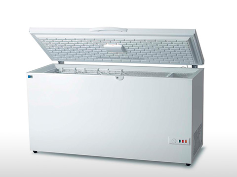 Freezer  - Horizontal porta de metal