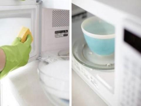 5 Dicas úteis de como limpar o microondas por dentro